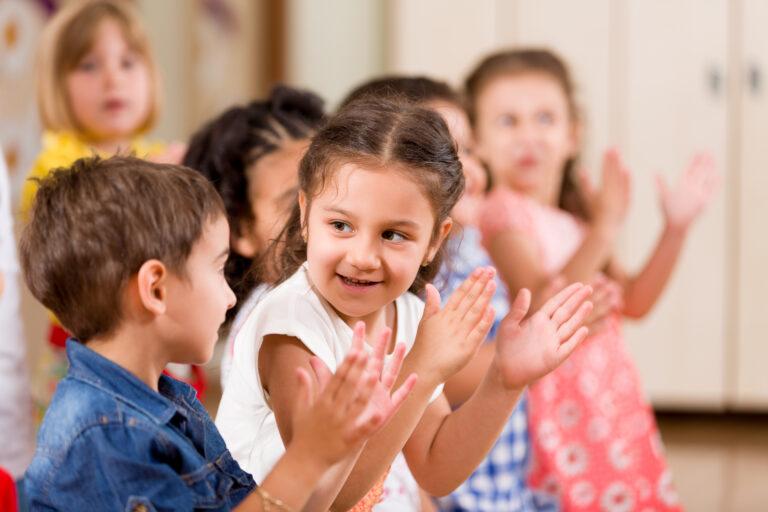 teaching kids group activity
