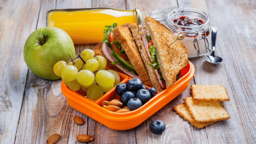 healthy lunch idea for young children